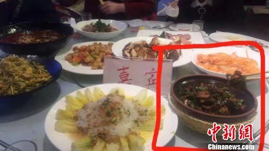 哈尔滨38人酒店用餐后展现身体不适住院:有关部分已介入调查 图片由就餐者挑供 摄