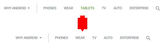 "Google将""平板""类别送回Android首页 称是操作失误的照片 - 2"