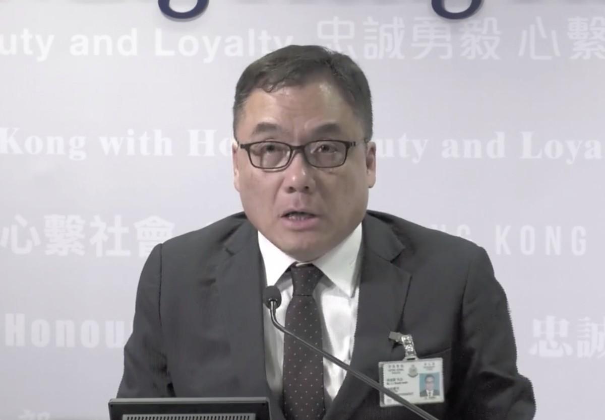 有组织罪案及三合会调查科高级警司李桂华。
