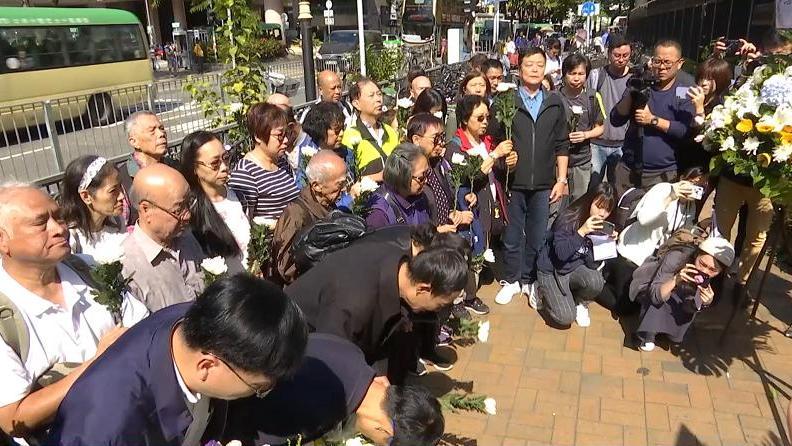 香港被砸身亡老伯之子:他只是个70岁手无寸铁老人