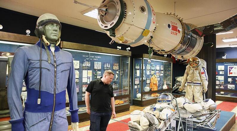 莫斯科航天博物馆图自《消息报》