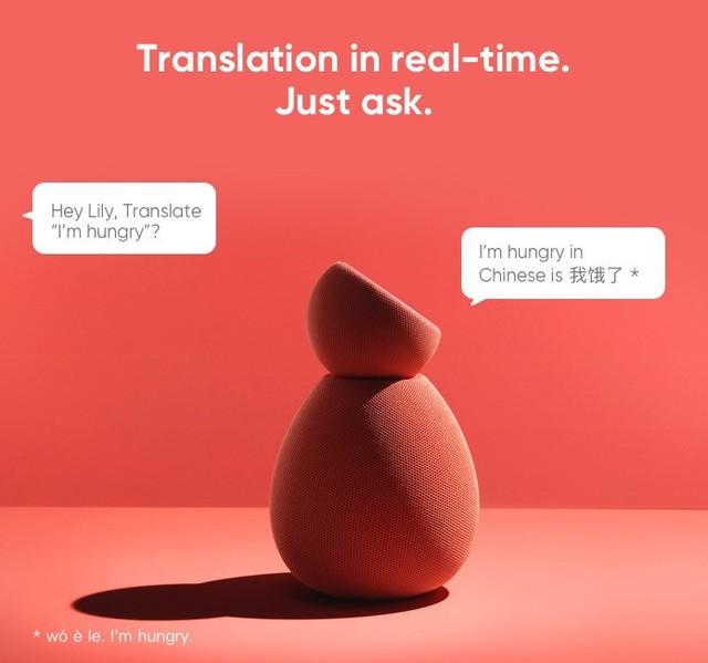 你能够直接用英文问Lily某个单词、某个外达用中文怎么说