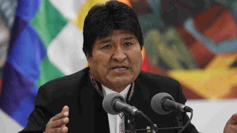玻利維亞總統莫拉萊斯獲得連任