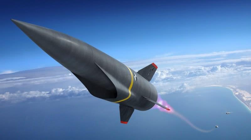 """洛克希德·马丁研发的高超音速武器""""高速打击系统""""(High Speed Strike Weapon HSSW)"""