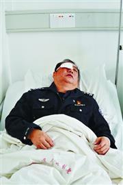 邵亞云在醫院治療。楚天都市報 圖