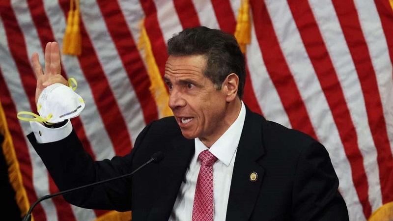 纽约州长科莫。(图源:路透社)