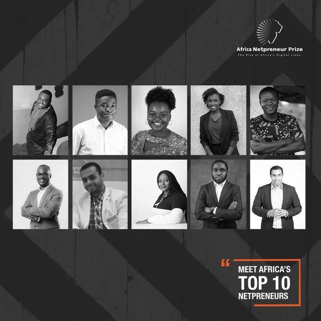 ▲10位非洲青年从50个非洲国家约1万名报名者中脱颖而出,成为总决赛选手。图据ANPI官方推特