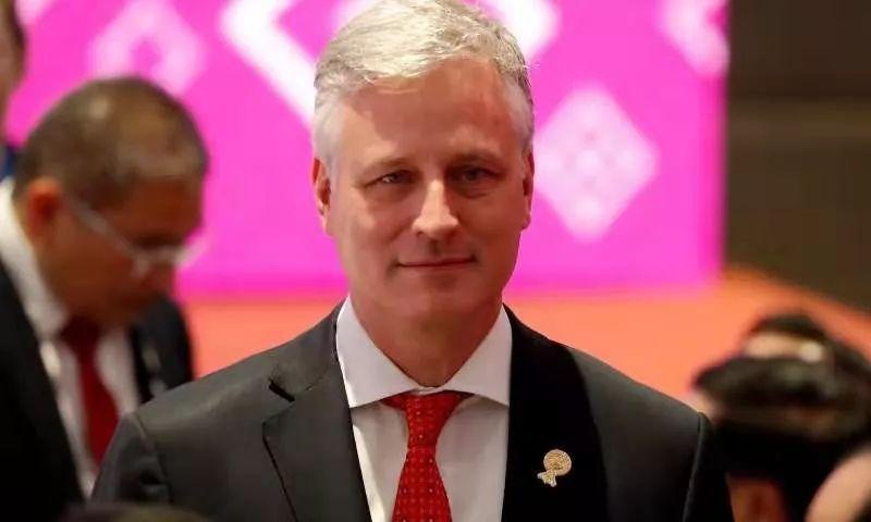 ▲罗伯特·奥布莱恩参加东盟会议。