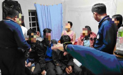 """台当局""""侨民署""""26日在嘉义等地查获脱团的越南人士。(图:台湾《中时电子报》/陈鸿伟 翻摄)"""