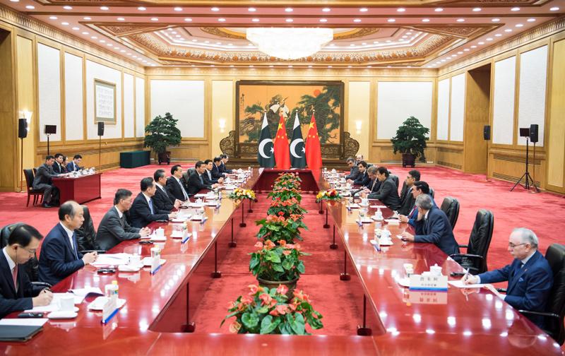 澳门威尼斯人开户:李克强同巴总理会谈:加强全天候战略合作伙伴关系