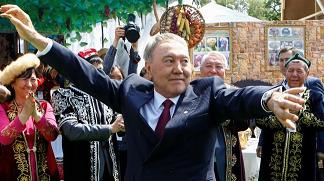 哈萨克斯坦总统纳扎尔巴耶夫 图源:路透社