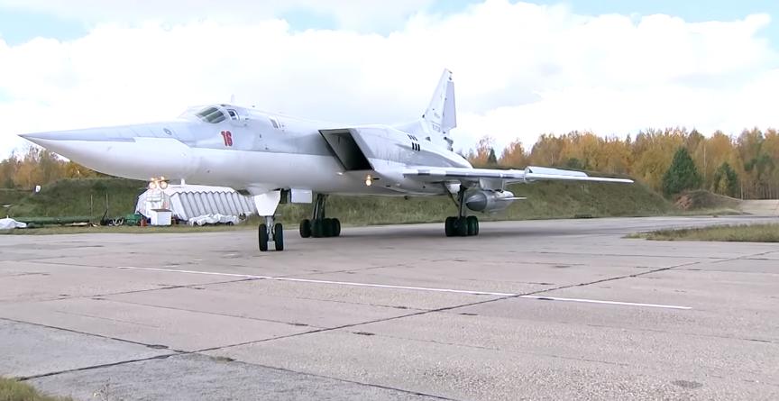 俄军演习画面(俄罗斯国防部视频截图)
