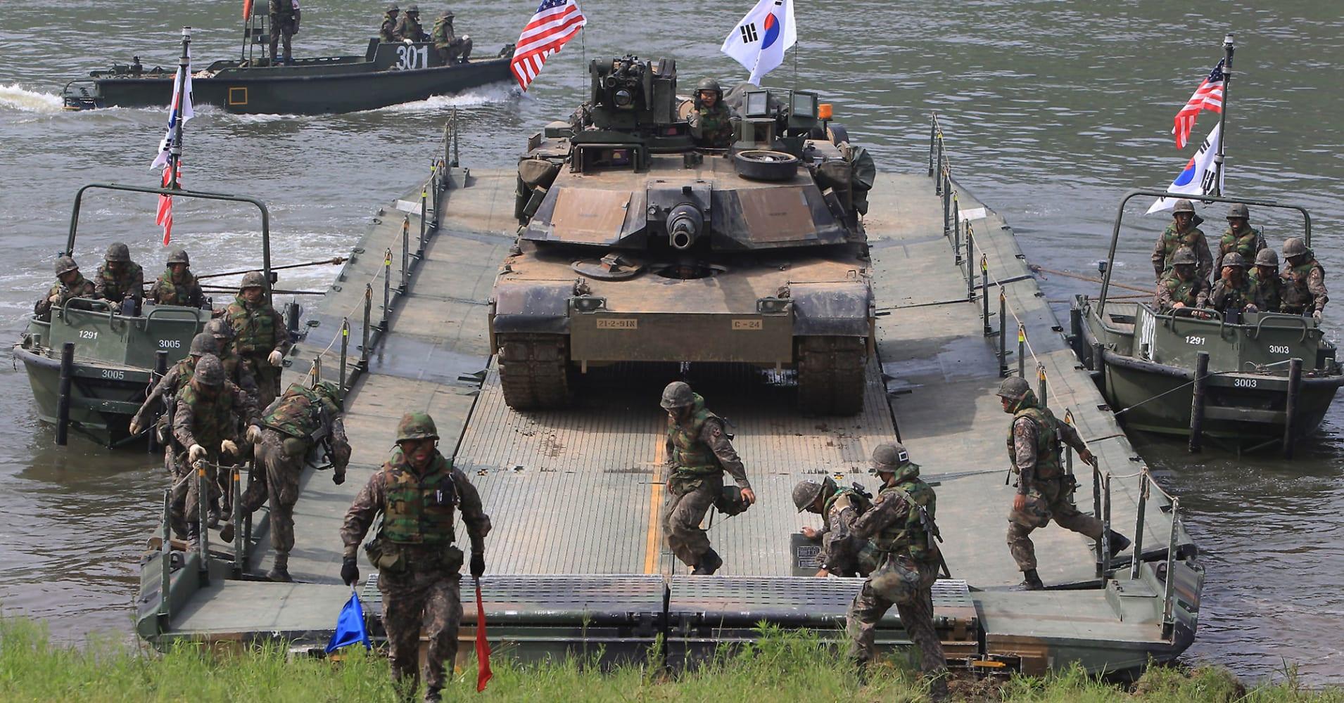 美韩取消警戒王牌演习后 又决定开展新的联合军演