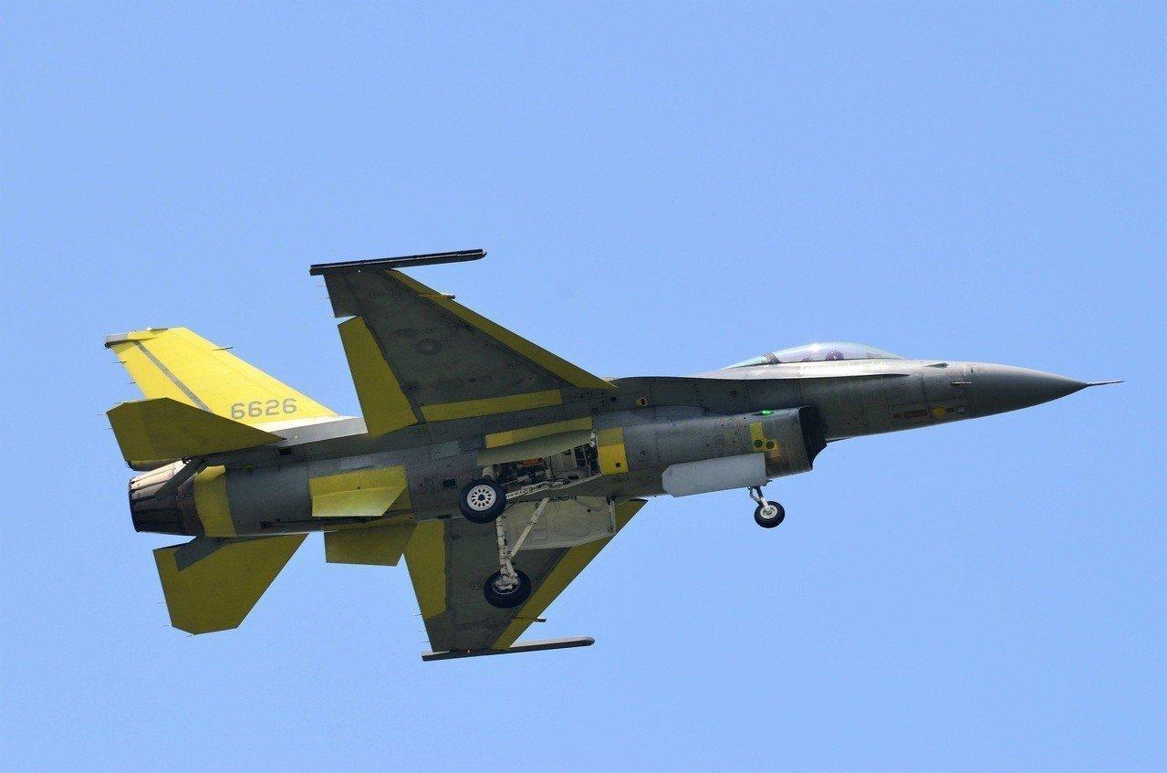 F-16V战斗机是F-16A/B的升级版(图片来源:台湾《说相符报》)