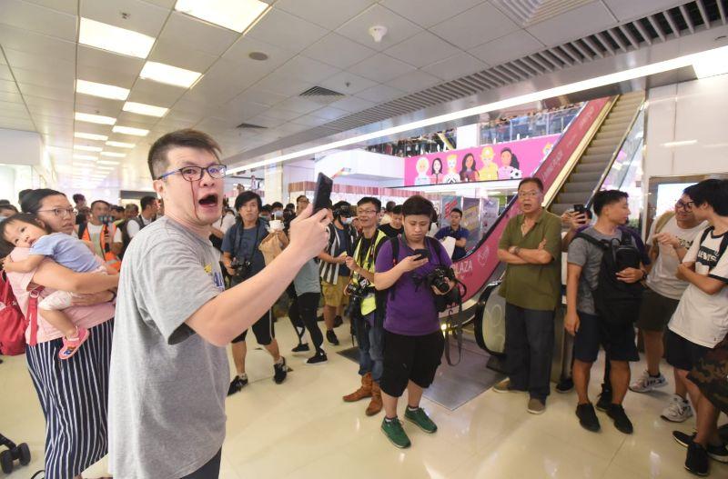 香港淘大商场9月11日发生暴力事件。图源:港媒
