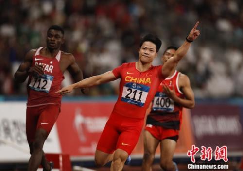 9秒92!苏炳添打破赛会纪录夺百米冠军