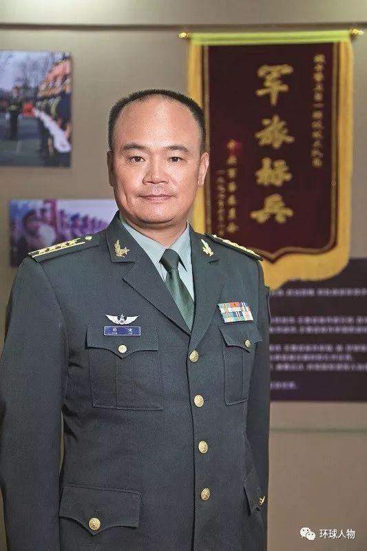 2019年9月,中国人民解放军仪仗大队大队长韩捷接受本刊专访。(本刊记者 侯欣颖 / 摄)