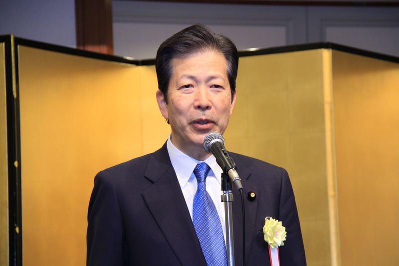 公明党党首山口那津男(资料图)