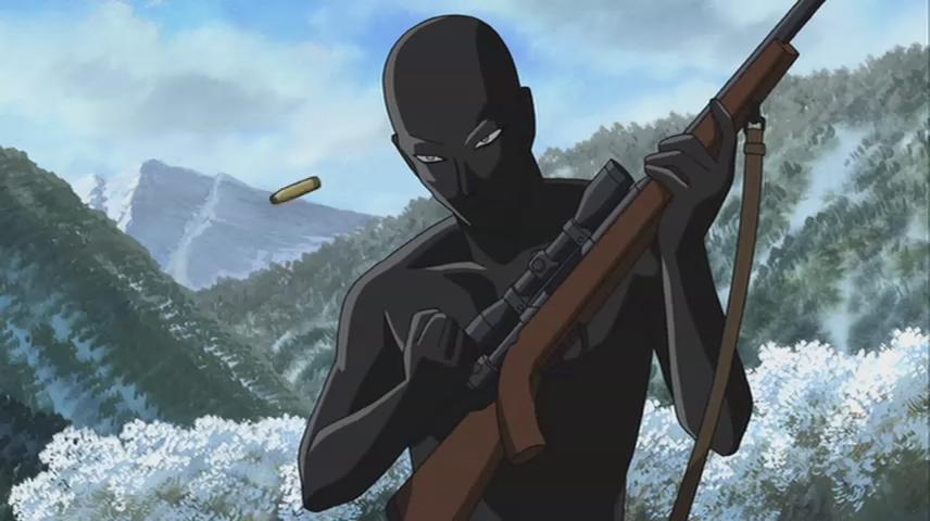 动漫黑人操乳_日本动漫《名侦探柯南》当中的常规反派\