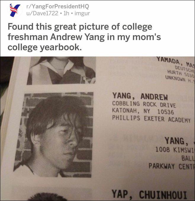 """""""摇滚青年""""杨安泽。(图自杨安泽的社交媒体)"""