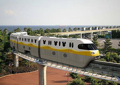 东京迪士尼度伪区将于2020年启用崭新的单轨列车。图/东京迪士尼度伪区官网