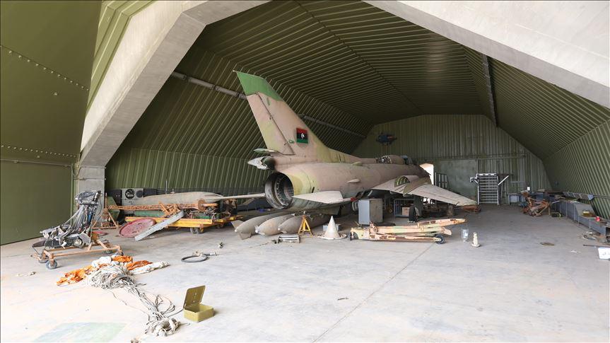 △瓦提耶(Al-Watiya)空军基地 图片来自土耳其阿纳多卢通讯社