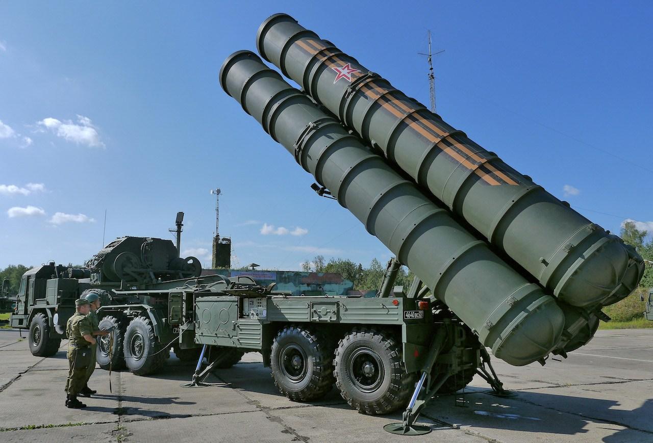 资料图:俄罗斯S-400防空导弹系统