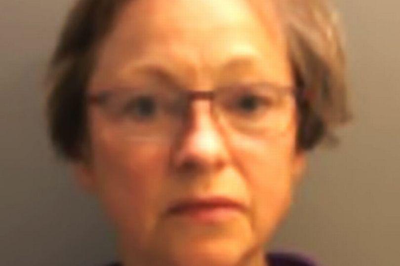 对12岁少年实施性侵的女教师苏珊(图源:《镜报》)