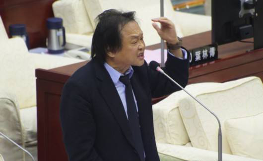 民进党台北市议员王世坚。