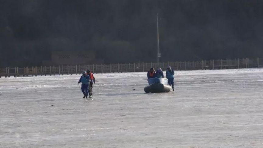 声援人员在现场作业。宁武县委宣传部