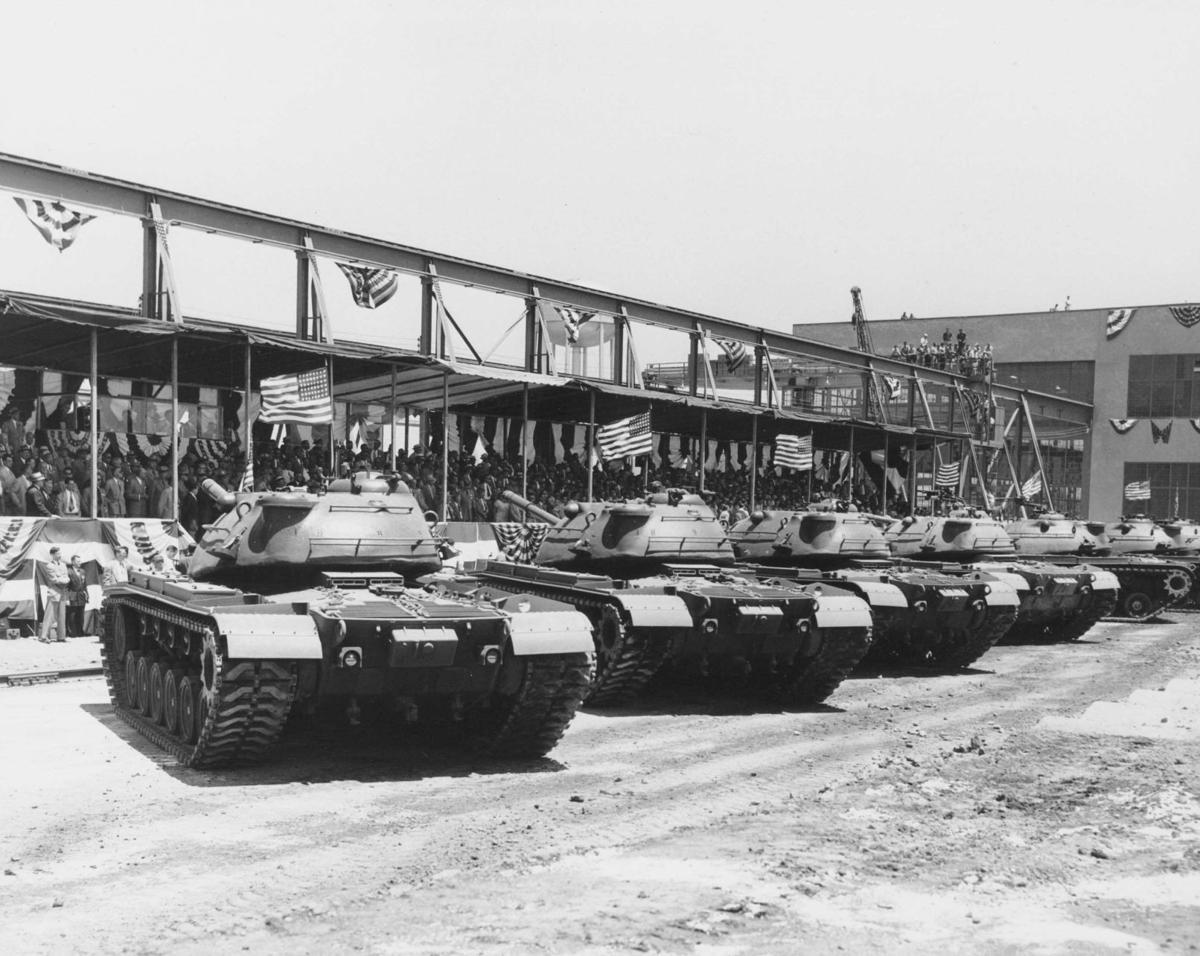 上世纪50年代,美国人在几年之内就生产了上万辆坦克