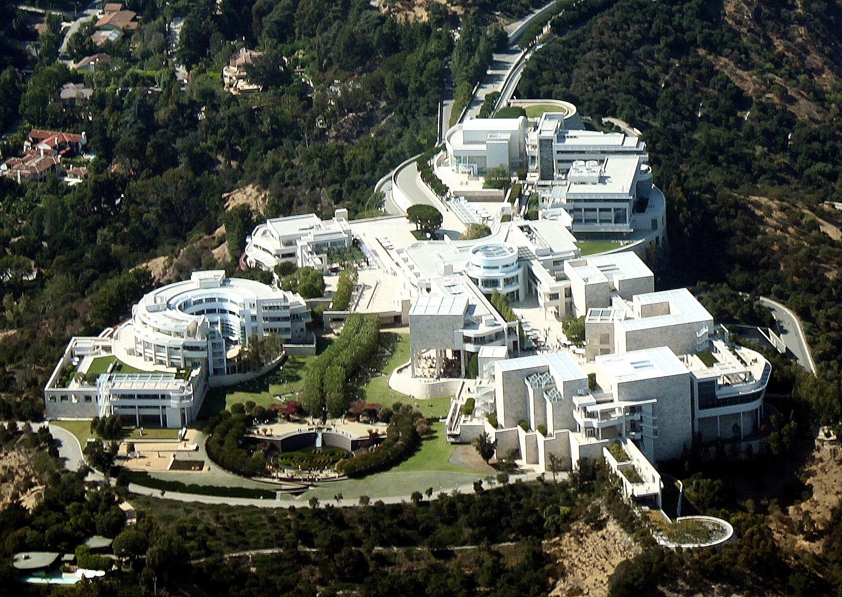 保罗·盖蒂博物馆 图源:维基百科