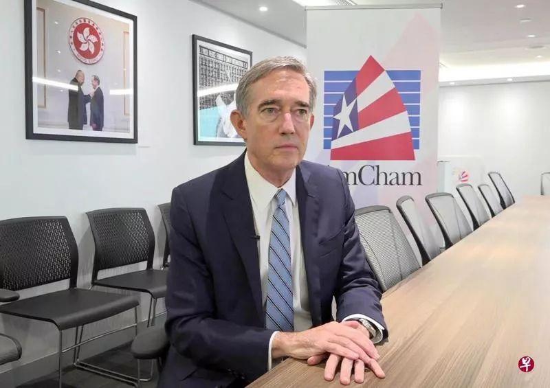 香港美��商��主席葛理福
