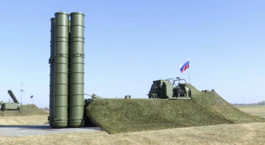 S-400防空导弹系统(图源:俄国防部)