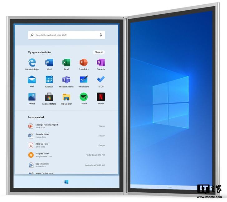 微軟Windows 10X桌面平臺據有移動屬性功...