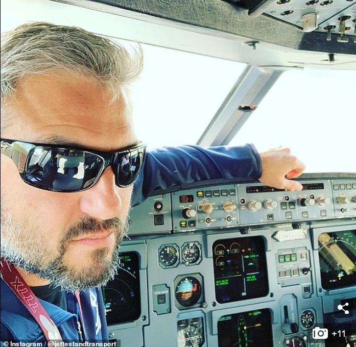 波音767飞行员史蒂文·佐丹奴(图源:每日邮报)