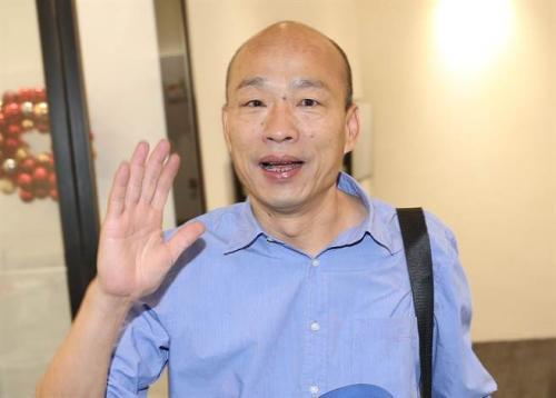 高雄市长韩国瑜。图片来源:台湾《中时电子报》原料图 姚志平/摄