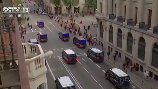 西班牙加泰乱局已造成超500人受伤 超300人被捕