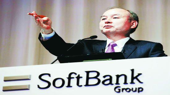 软银第二季度的经营亏损约64亿美元 估值下跌至不足80亿美元