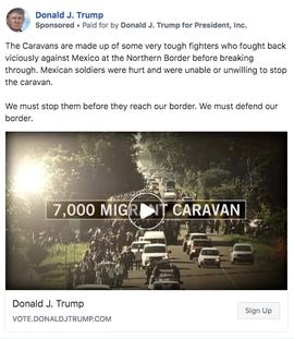脸书删除特朗普竞选告白:使用纳粹标记