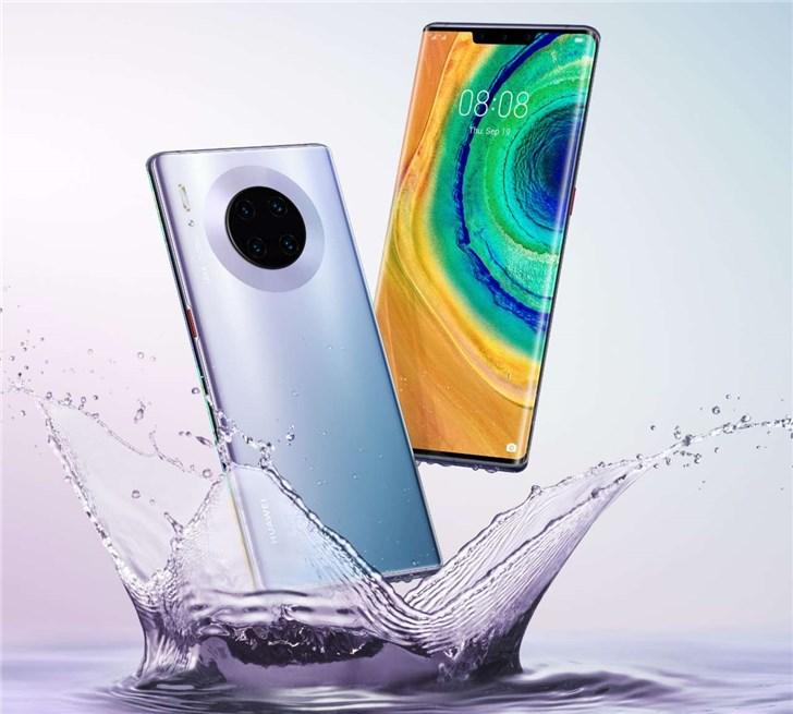 华为麒麟990/麒麟990 5G在印度发布,预装于Mate 30/Pro智能手机上
