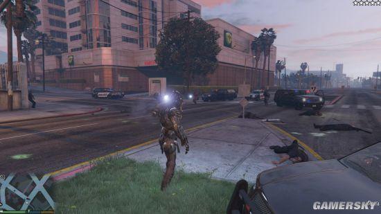 《GTA5》鐵血戰士MOD發布 外星黑科技加持戰斗無敵