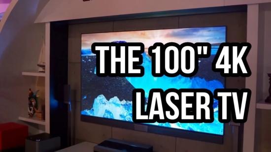 100吋4K激光电视