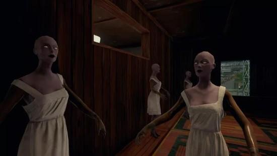 """《绝地求生》新地图吓人房间:白衣""""女鬼""""?的照片 - 1"""