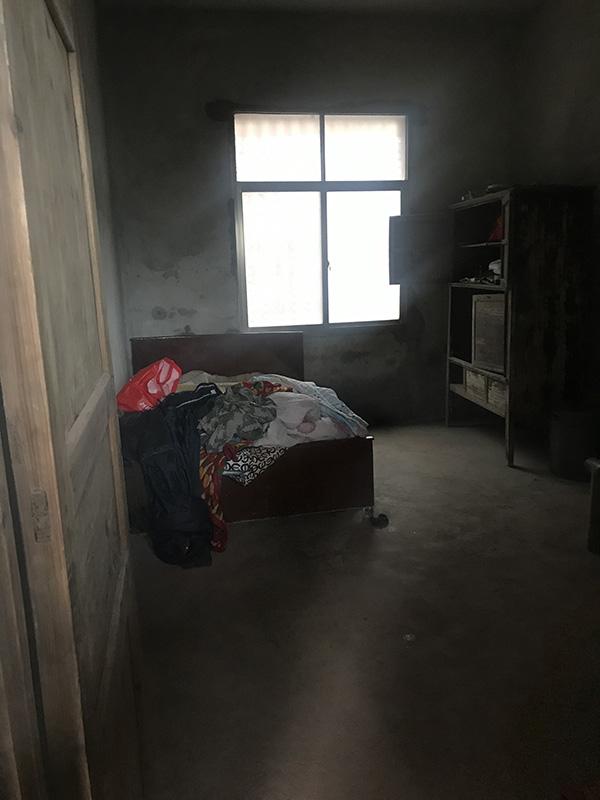 罗某所住的房间。澎湃讯息记者 蒋格伟 摄
