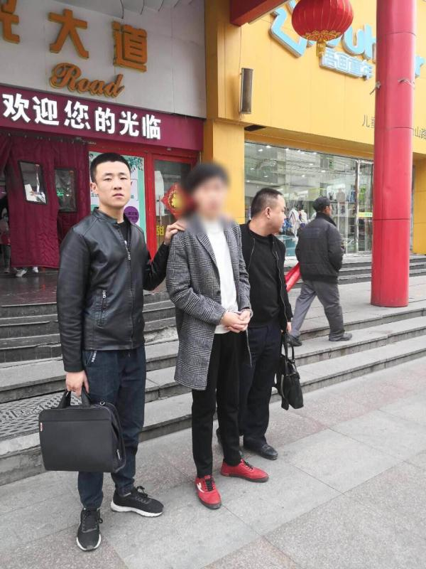 彭某被警方抓获 鹤峰公安局供图
