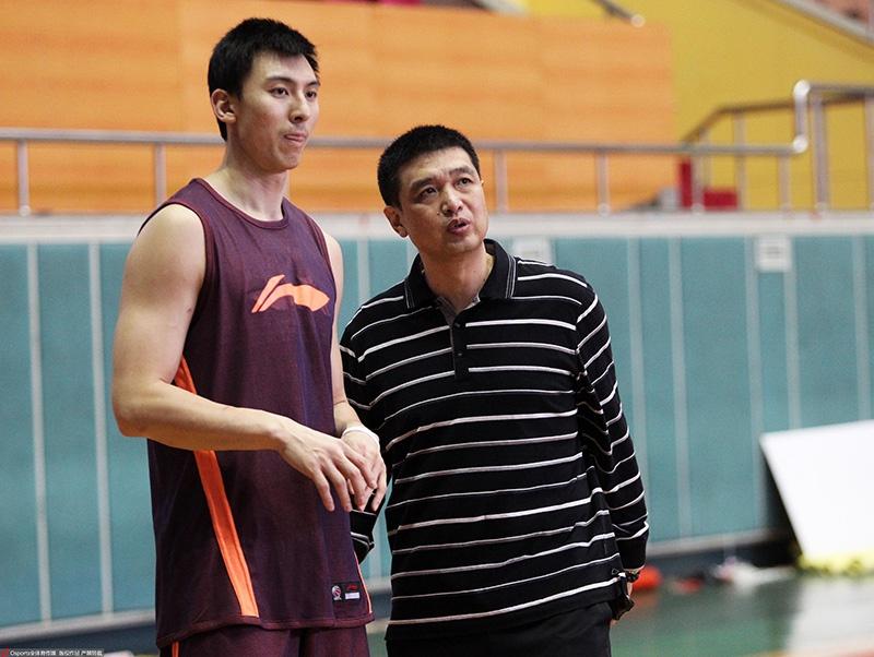 吉喆与闵鹿蕾师徒情如父子。图/Osports