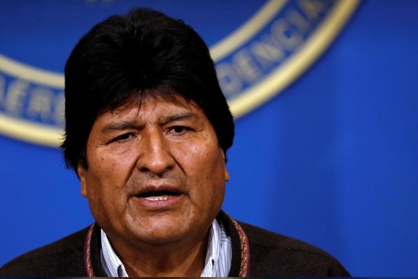 玻利维亚总统莫拉莱斯宣布辞职:望寻求国内和平_意大利新闻_意大利中文网