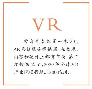 爱奇艺智能完成亿元级融资 正式进入VR市场