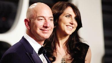 风波中的亚马逊:贝佐斯天价离婚案敲定 仍为世界首富